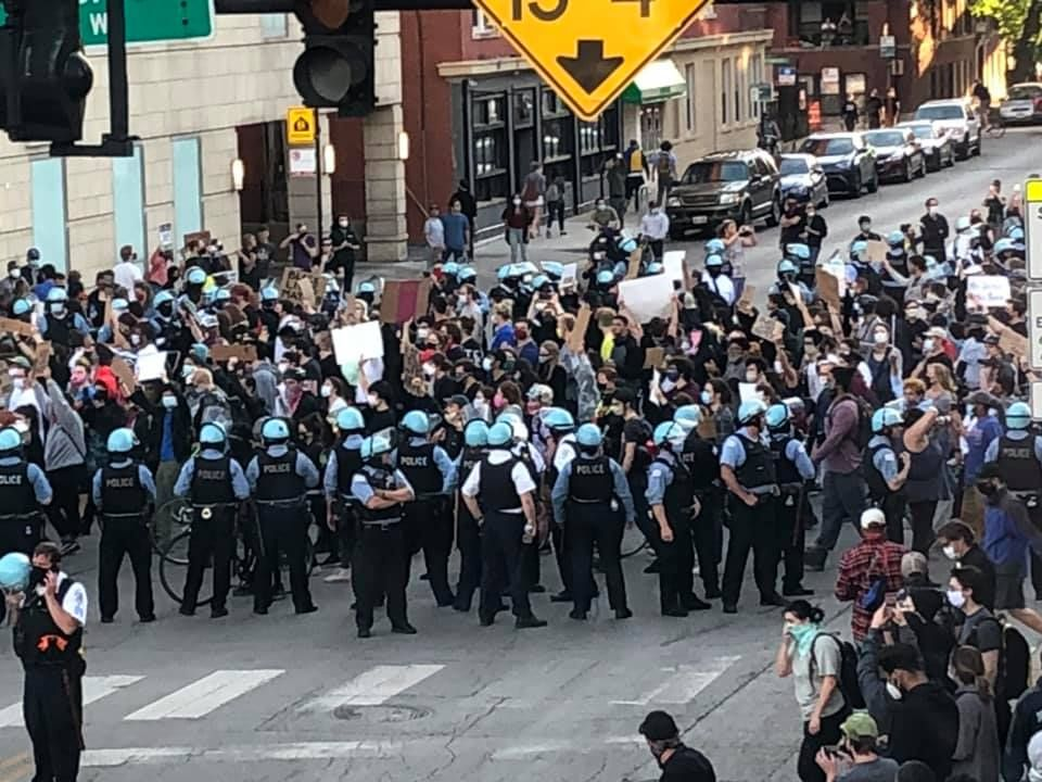 Police Protests Come to Uptown