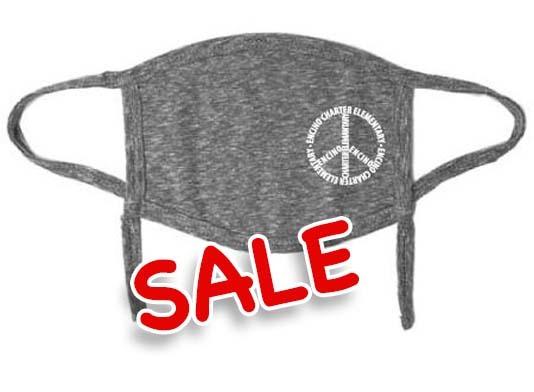PEACE - Youth Mask (Grey)