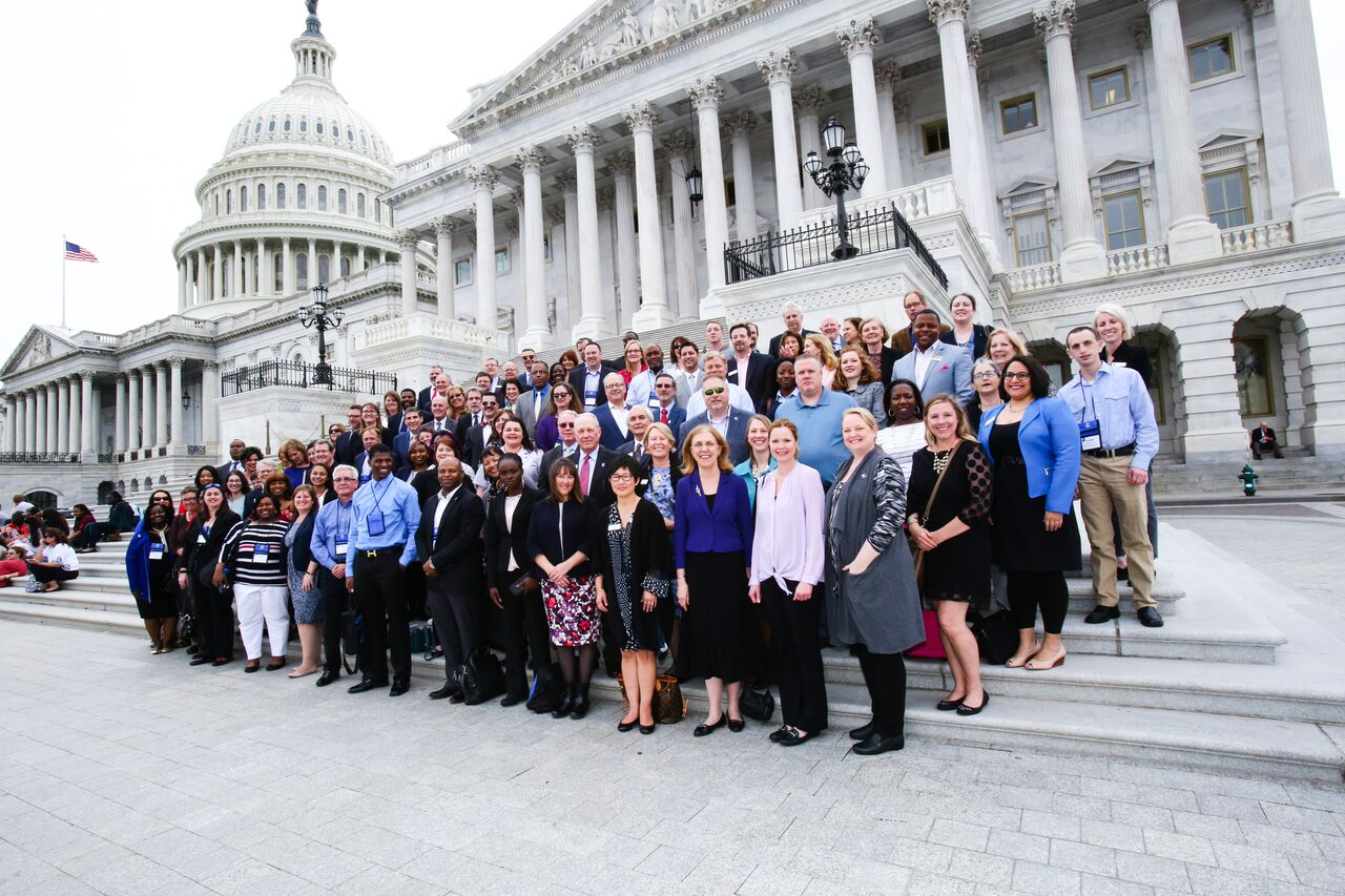 Denver refugee student and youth facilitator represent Goodwill Industries of Denver in Washington, D.C. for Advocacy Day