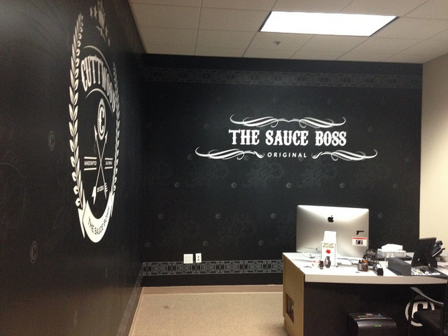Custom vinyl wall murals Orange County