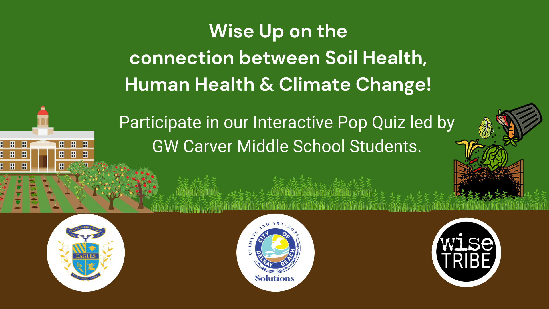 Youth led game show on Soil & Climate Change