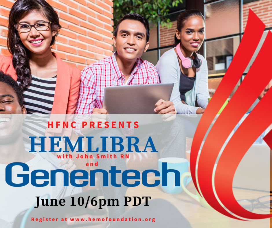 Hemlibra presented by John Smith, RN with Genentech
