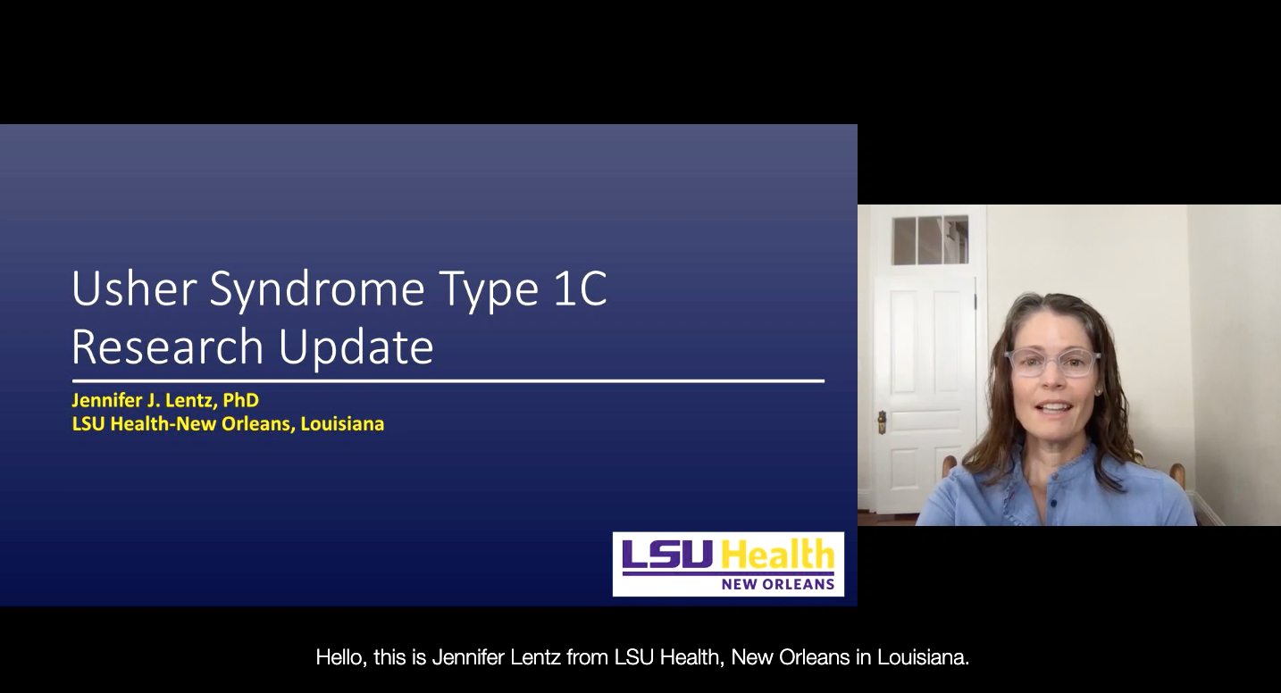 Usher Syndrome Type 1C Research Update