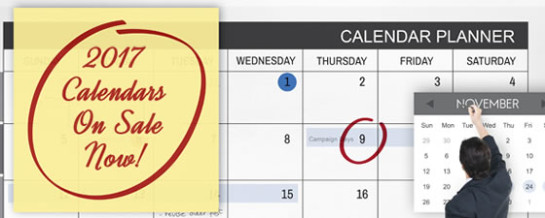 Calendar Catalog Masthead