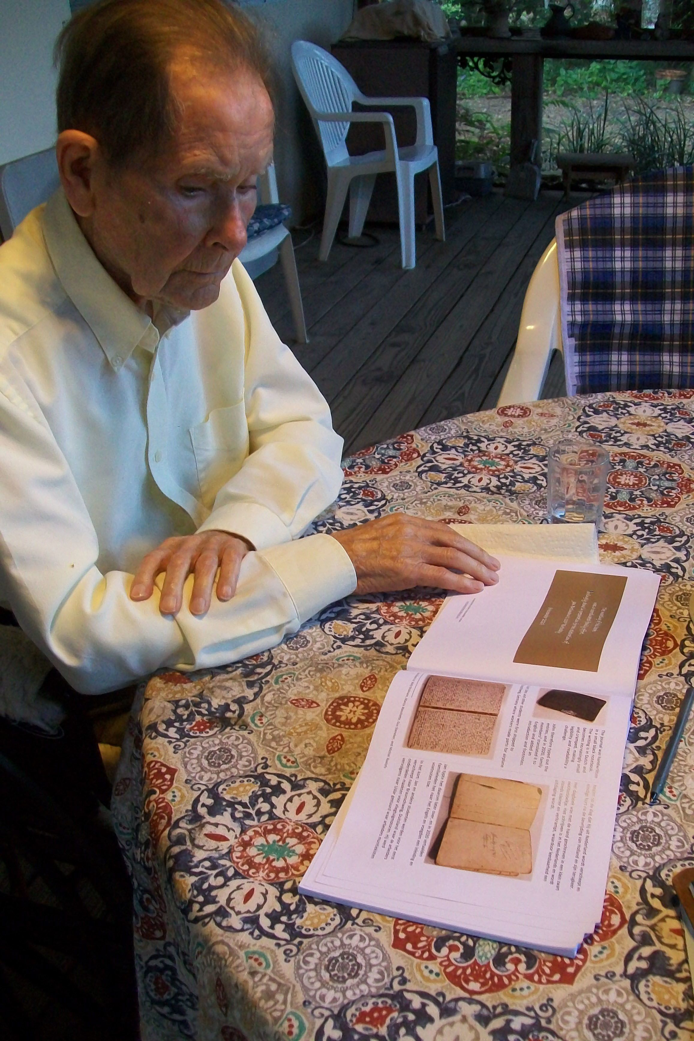 Centenarian's faith was a lifeline during Nazi invasion