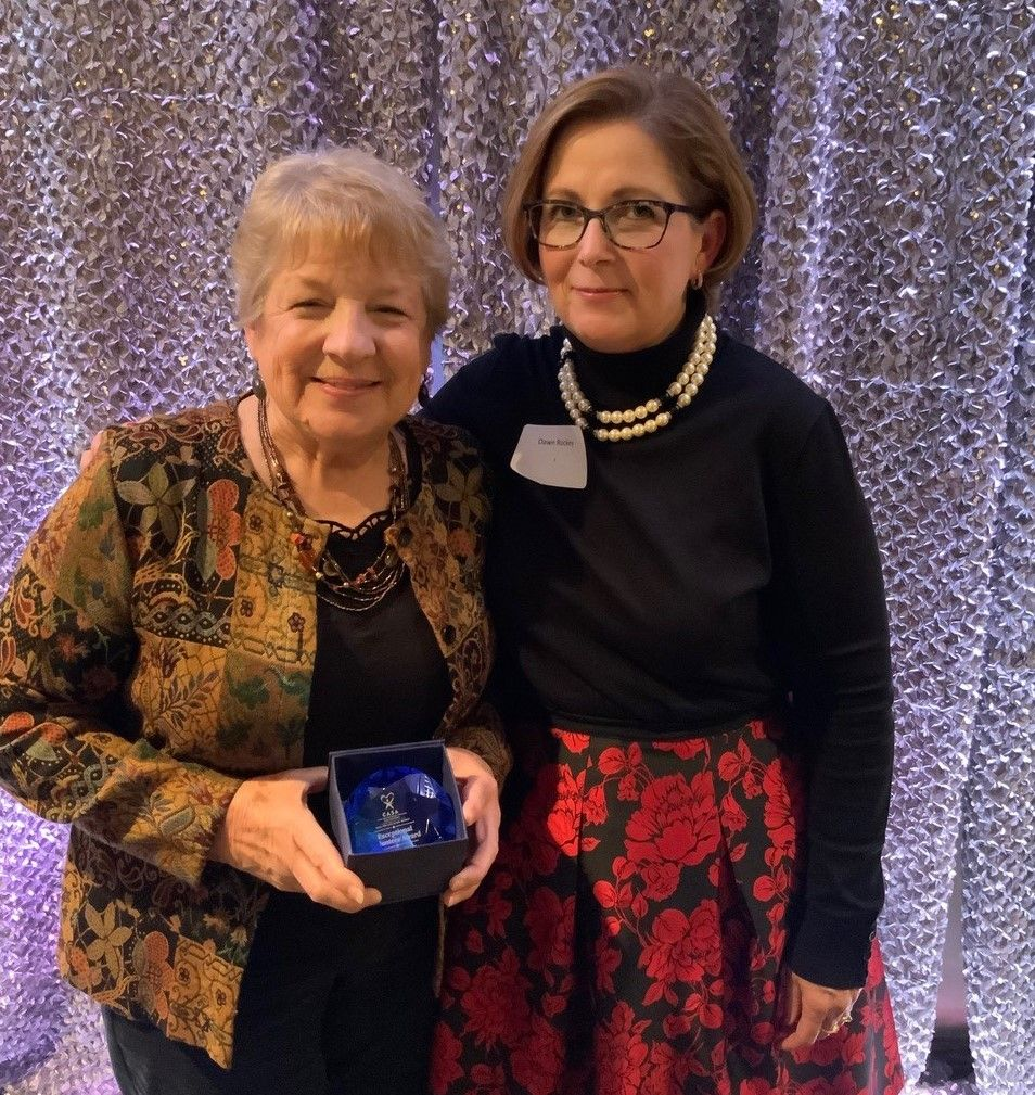 20th Anniversary Exceptional Volunteer Award