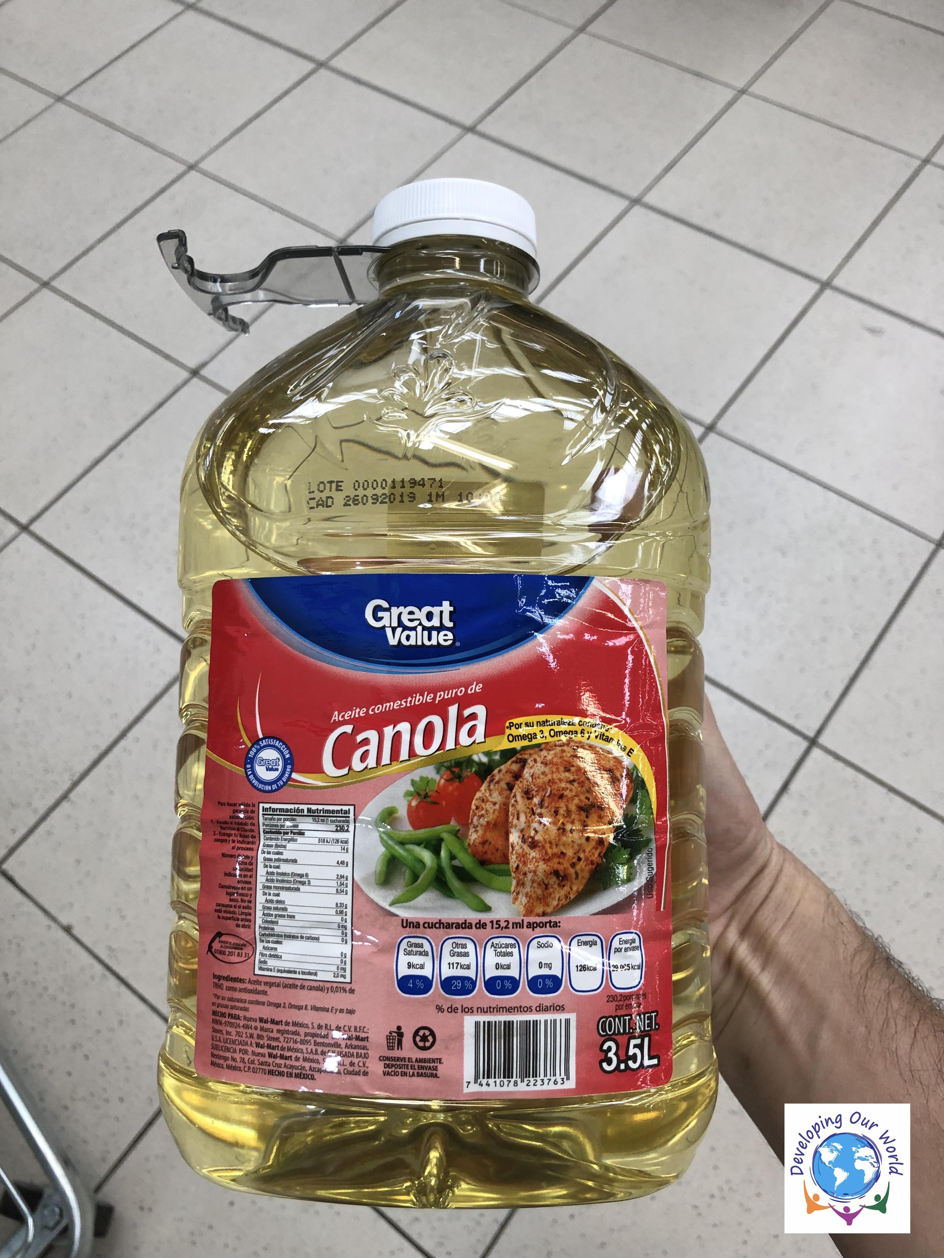 1 gallon of oil