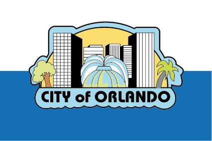 X33126 -  Flag of the City of Orlando, Florida