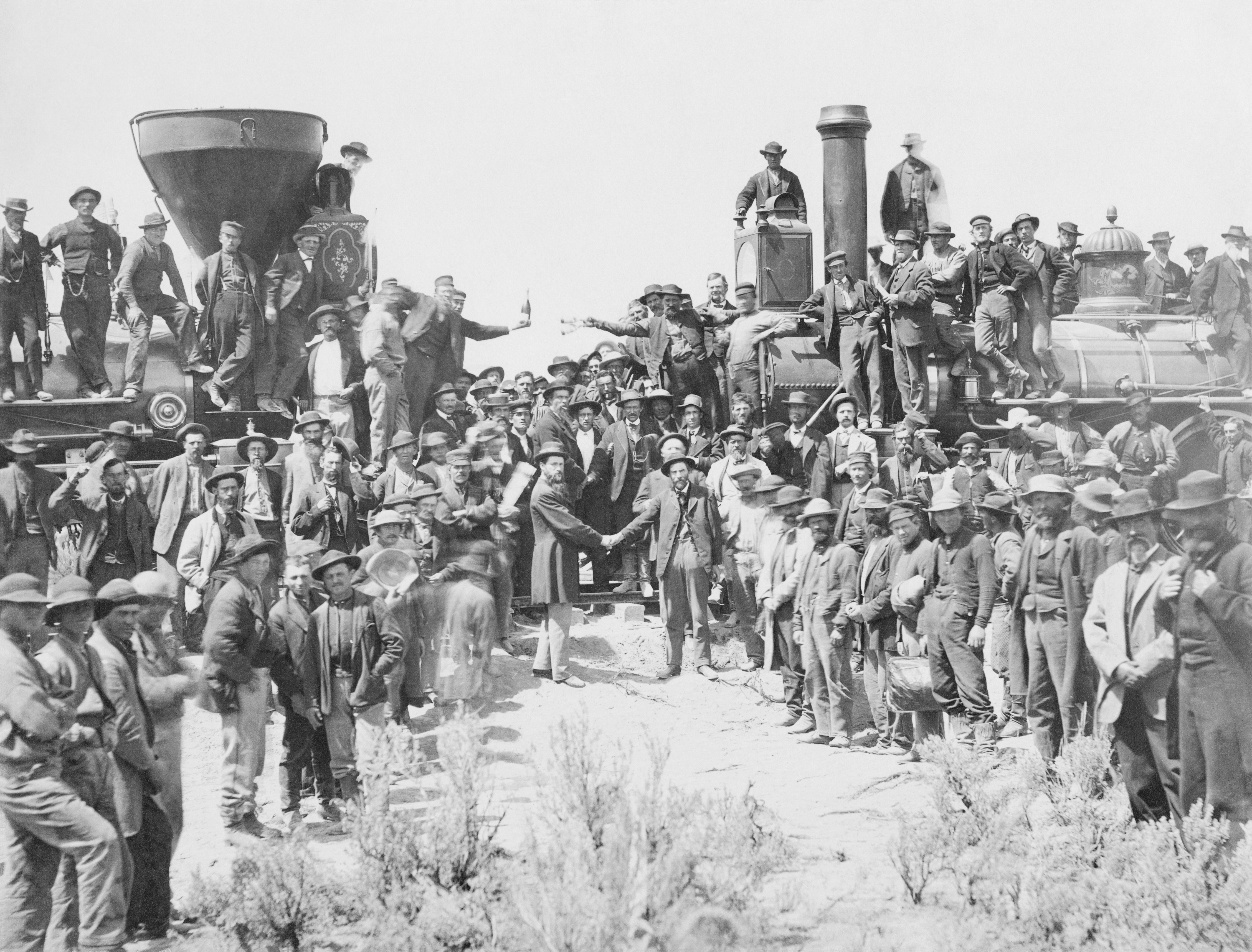 DRIVING THE SPIKE:  Past to Present 1869 to 2019