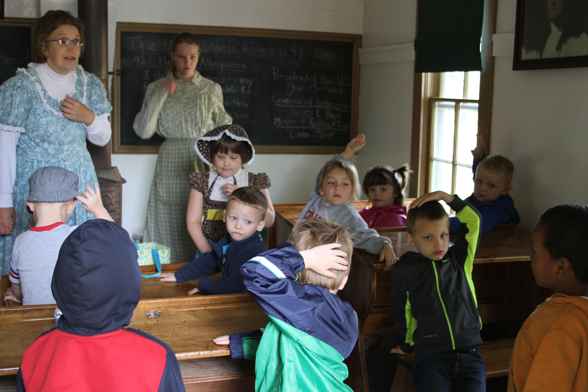 Back to School in Railroad Town