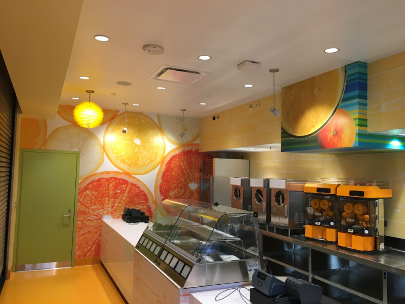 Juice Bar Wall Murals