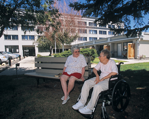 image of housing program clients