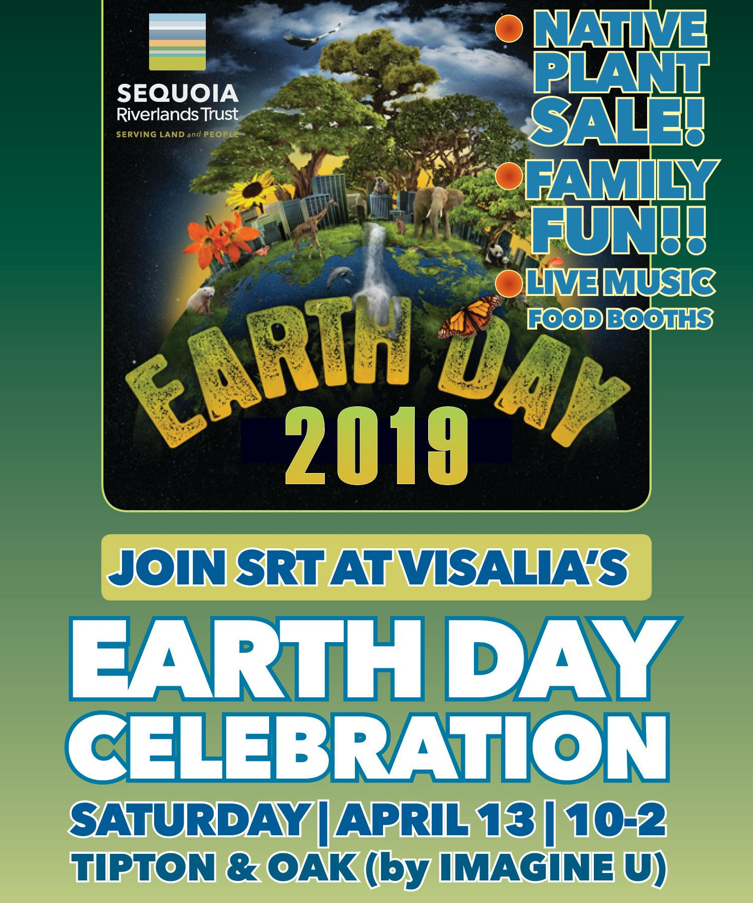 SRT at Visalia Earth Day event