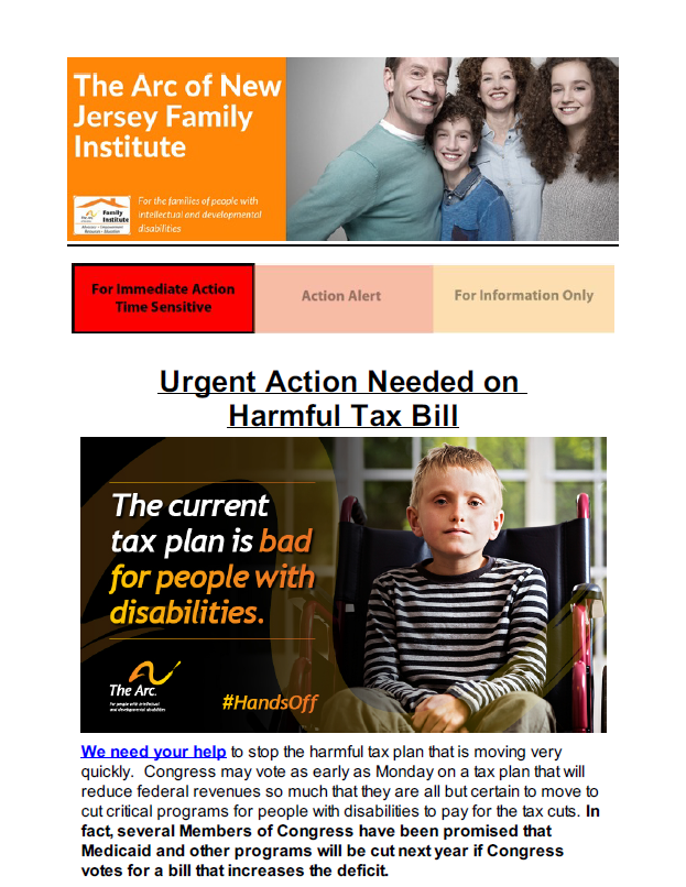 Urgent Action Needed on Harmful Tax Bill 12.15.2017