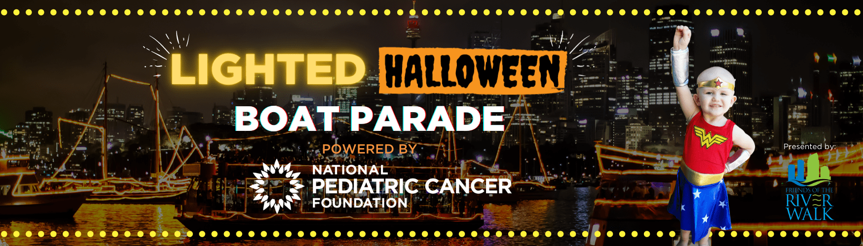 Halloween Lighted Boat Parade