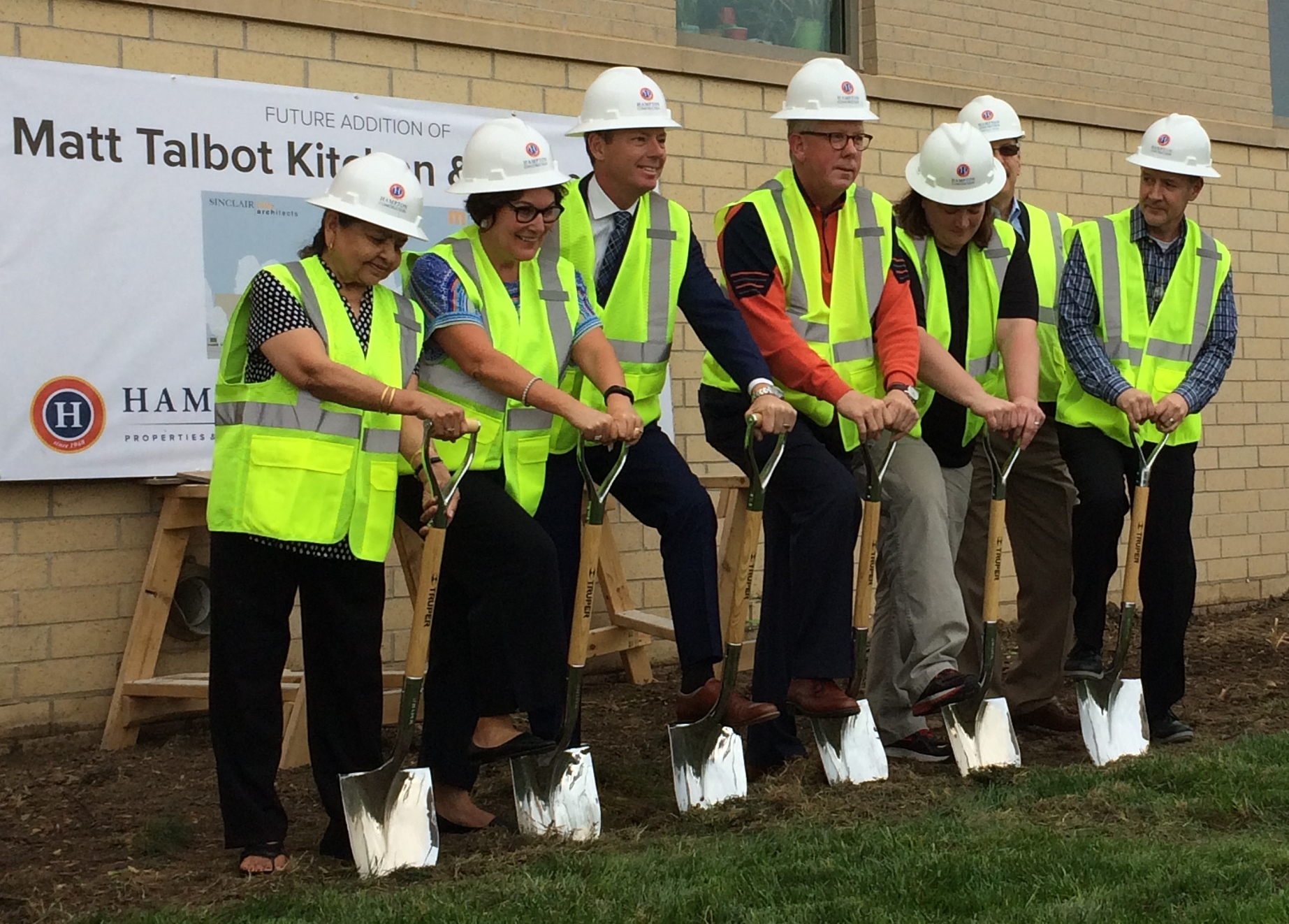 Groundbreaking Commemorates Building Expansion