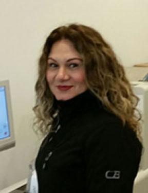 Maite Espinoza, Customer Service & Bindery