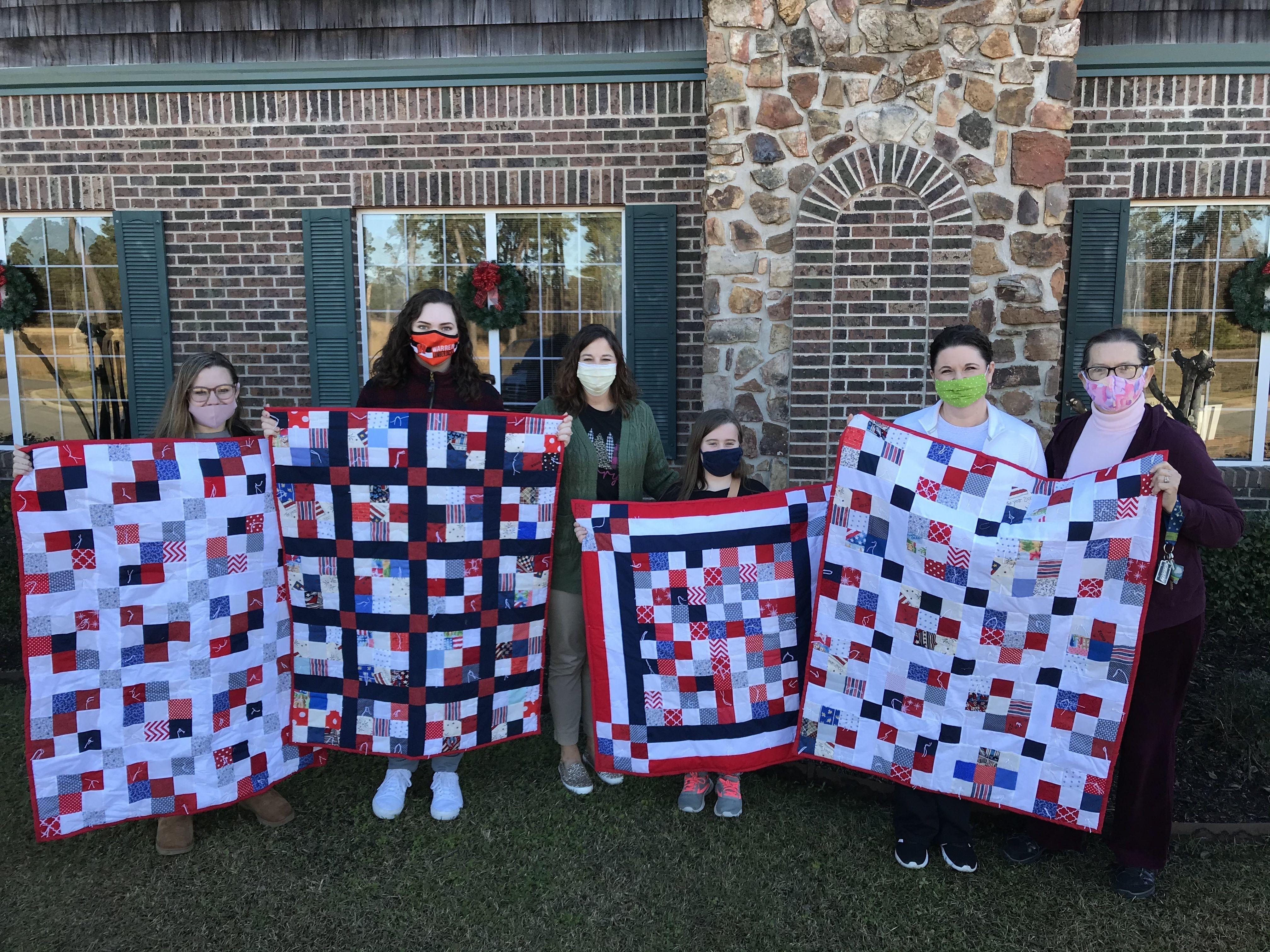 Bradley County 4-H Club Quilt Donation