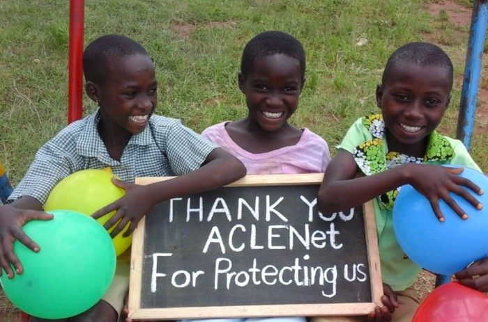 ACLENet thanks all Donors and Funders for their Support