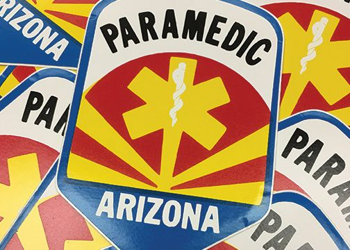 Arizona Paramedic Decal
