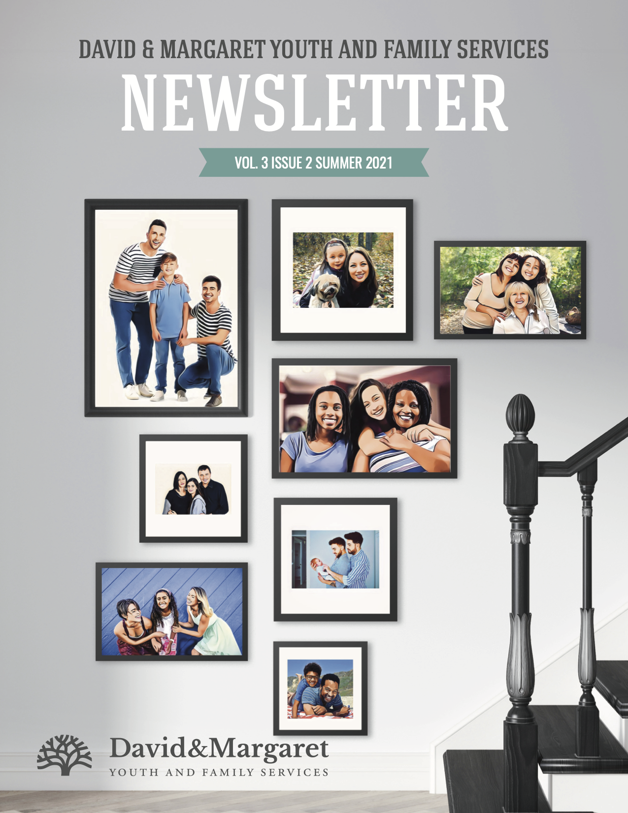 David & Margaret Quarterly Newsletter Vol. 3 Issue 2; Foster Care and Adoption Agency