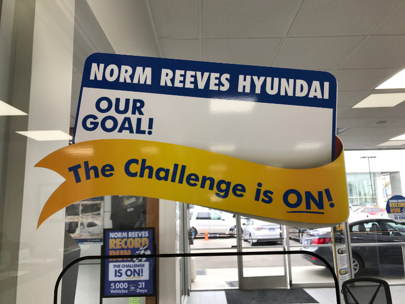 Auto dealership signs and graphics pole banners buena for Park place motors service