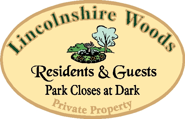 GA16526 - Design of HDU Sign for Park (Private Property) for Residents and Guests