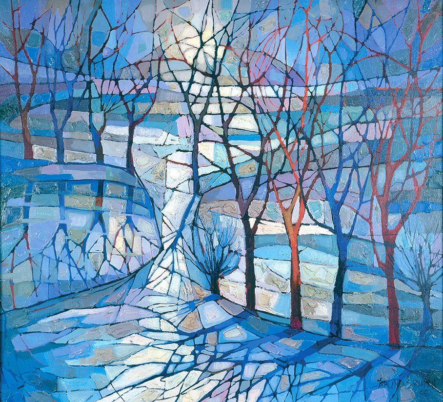 Raised Tree Paintings