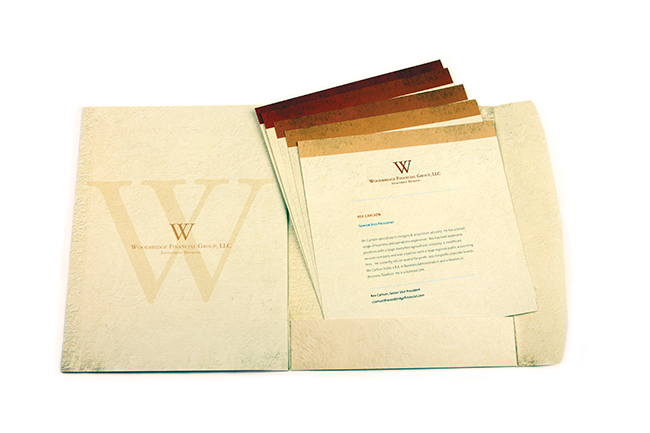 Woodbridge Financial Pocket Folder