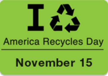 Take The Pledge To Recycle More on America Recycles Day