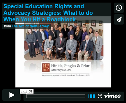 Special Education Rights and Advocacy Strategies: What to do When You Hit a Roadblock