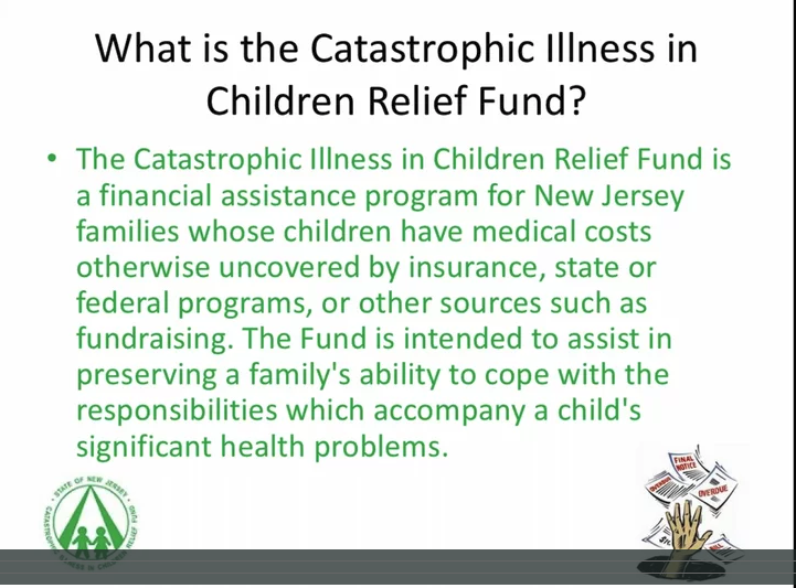 An overview of the Catastrophic Illness in Children Relief Fund