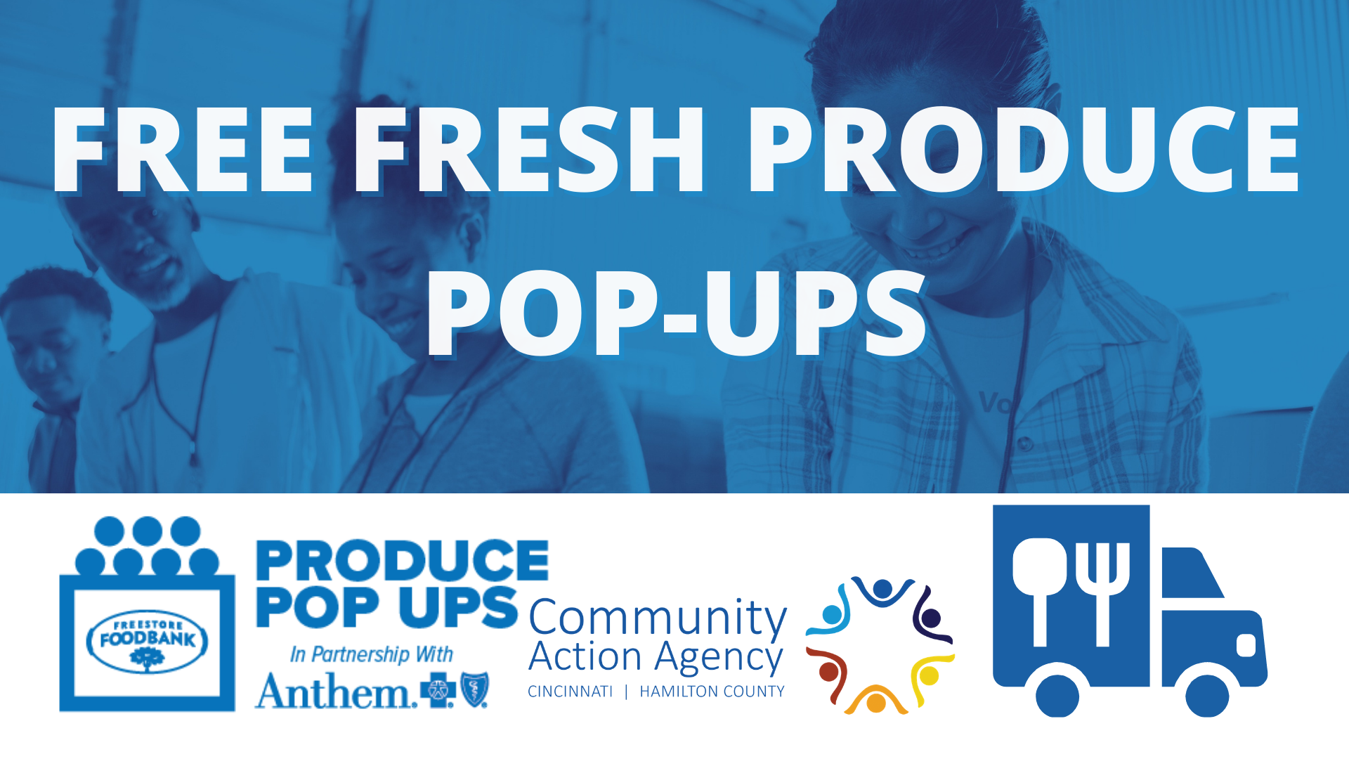 Produce Pop Ups x CAA Mobile Food Pantry @ Community Action Agency