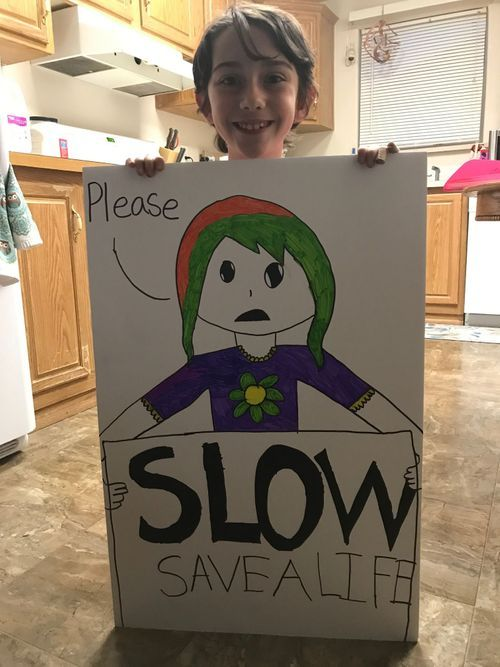 Street safety becomes the focus for the community.