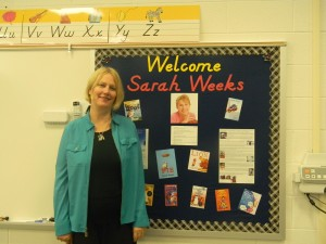 Author in Residence Sarah Weeks