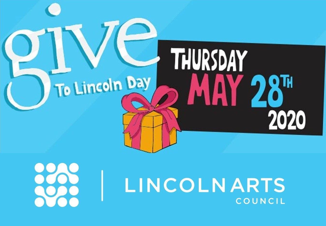 May 28th is Give to Lincoln Day!