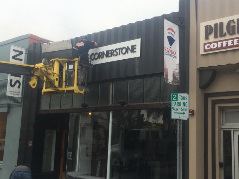 Building Sign Installations Fullerton CA