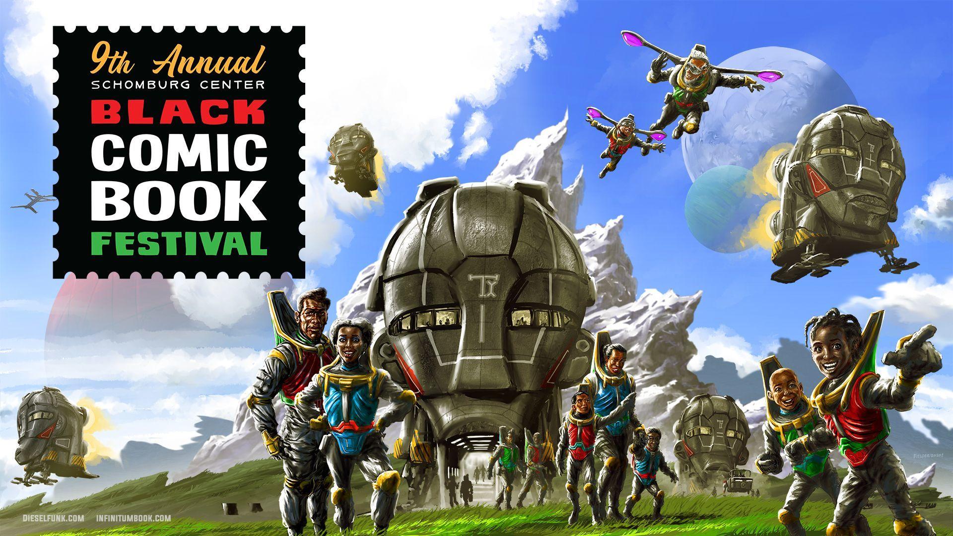 The Schomburg Center's Black Comic Book Festival