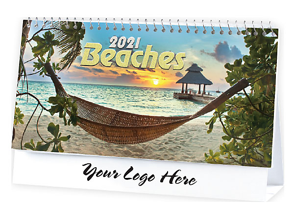 DESK CALENDAR - BEACHES
