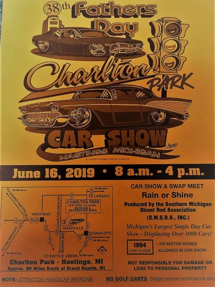 No Rentals - Father's Day Car Show