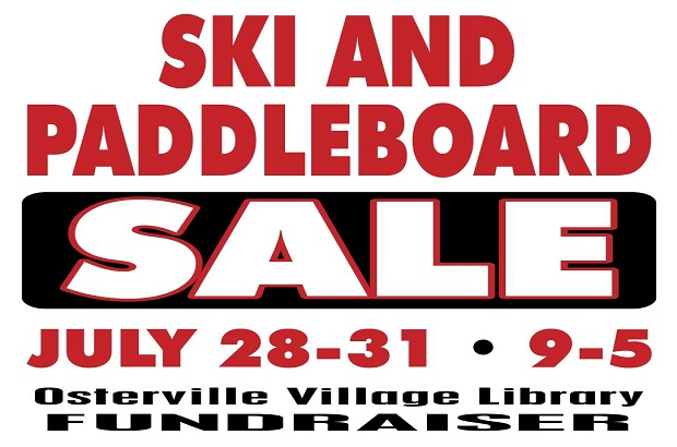 Ski and Paddleboard Fundraising Sale at OVL