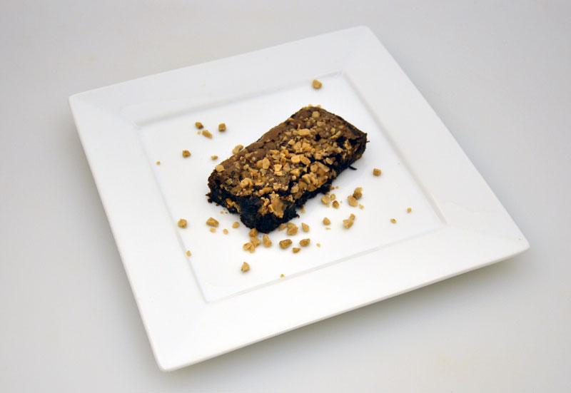 Toffee Crunch Triple Chocolate Brownie