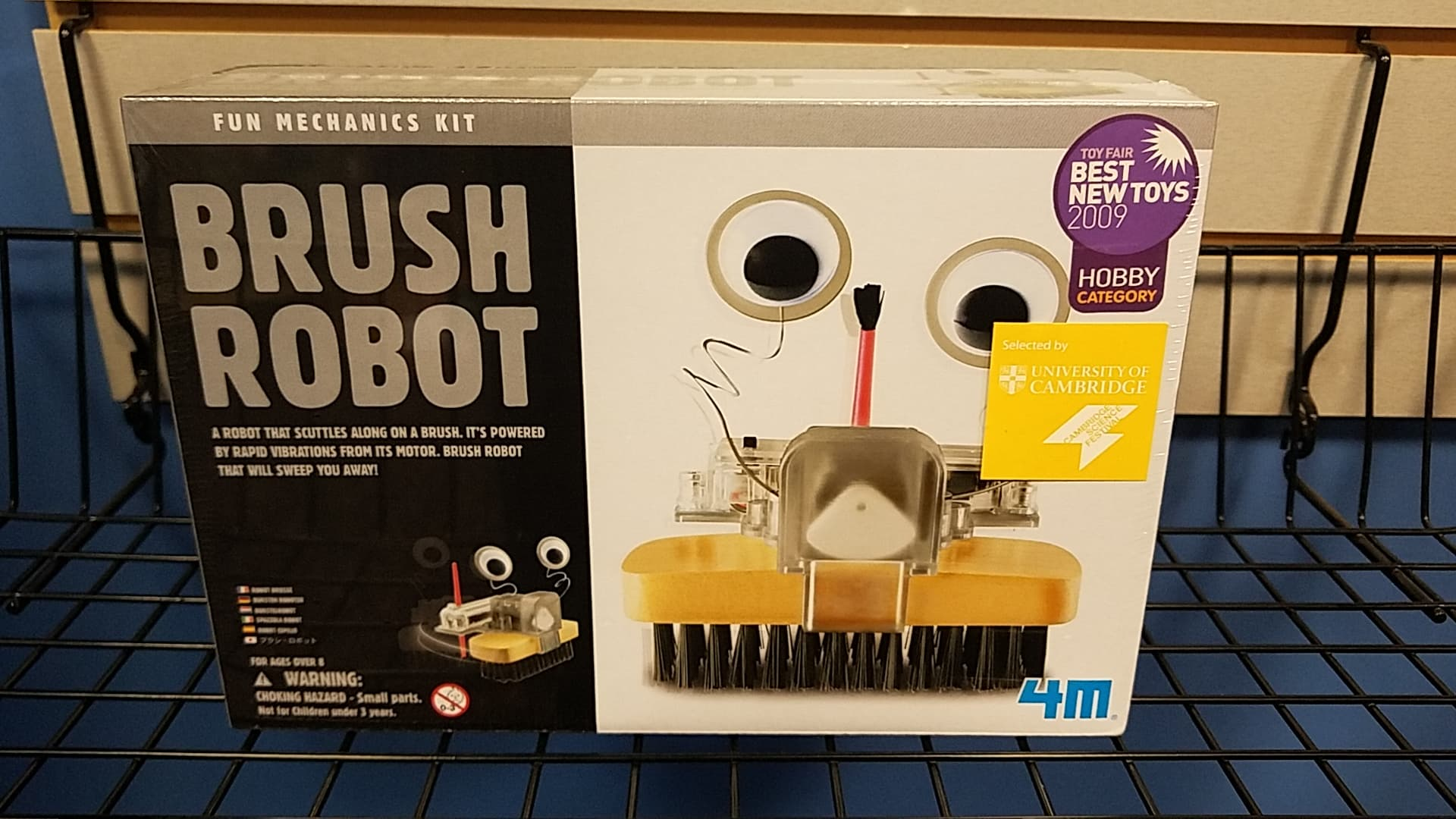 Brush Robot Building Kit