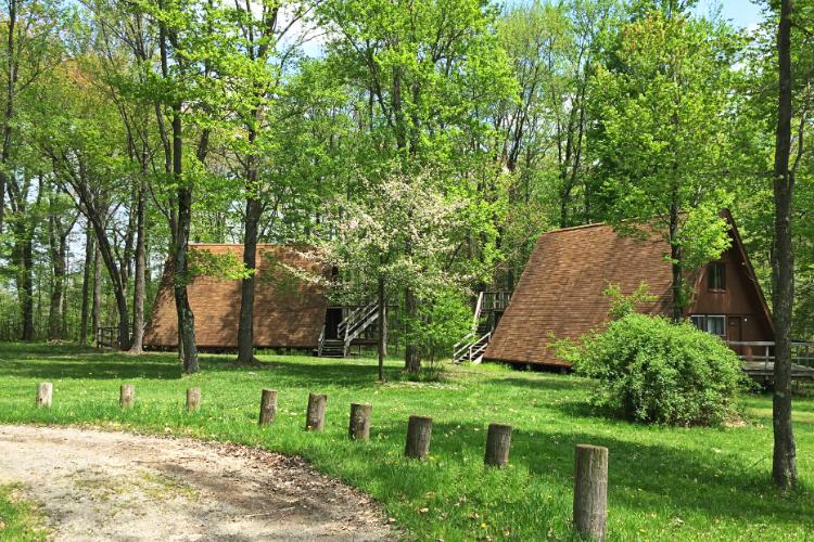 A-frame Village Spring