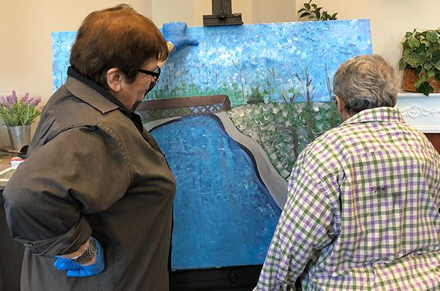 DuPage Foundation Grant Connects Not-for-Profit with Local Artist