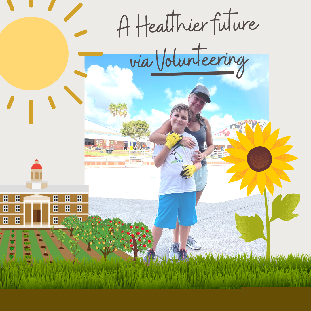 A Missing Piece, Volunteering to Build a Healthy Future for All