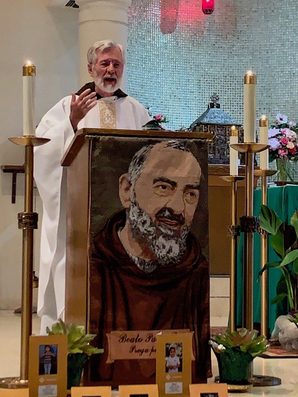 Padre Pio seminar focuses on steps to holiness