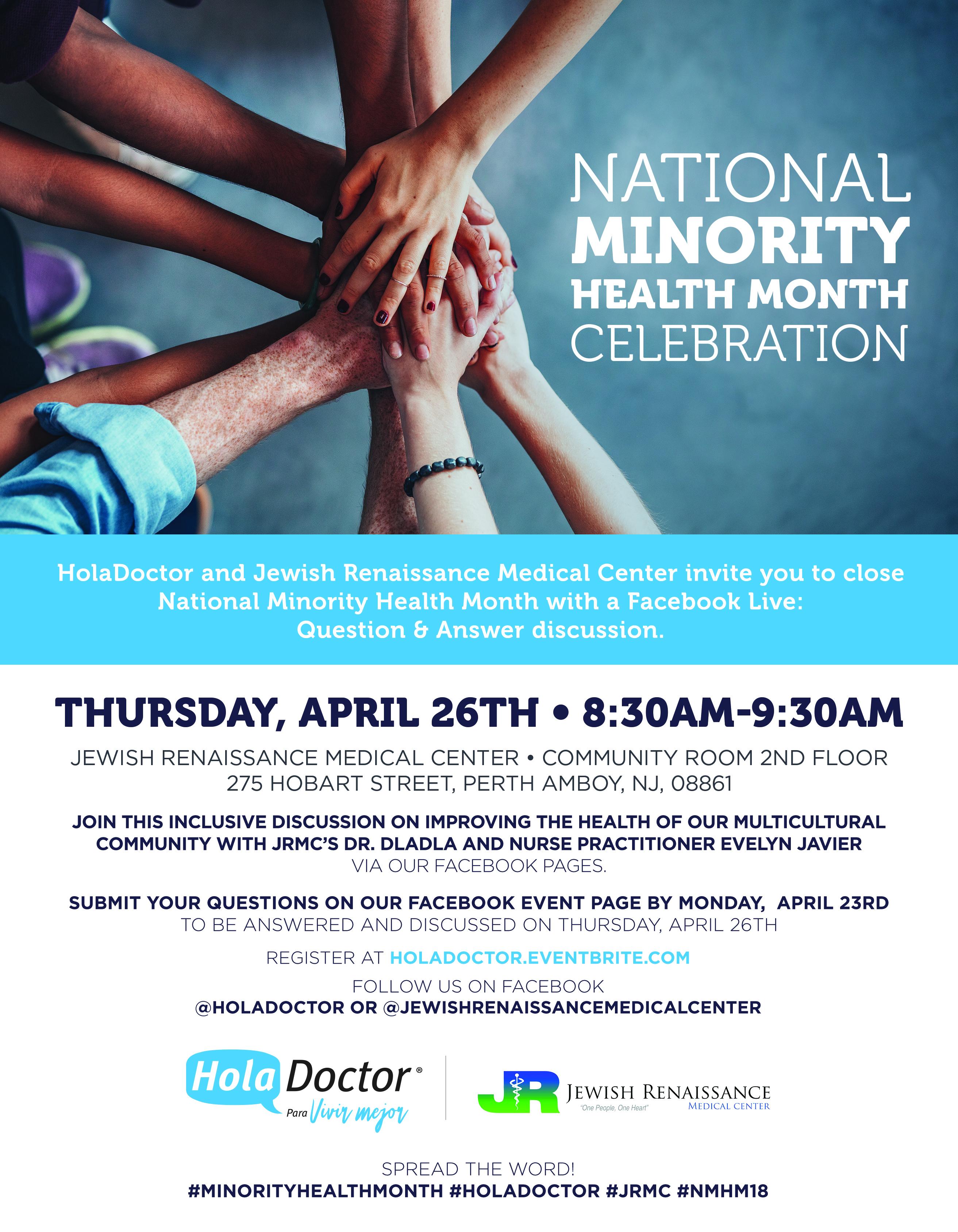 National Minority Health Month Celebration