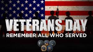 Office Closed - Veterans Day