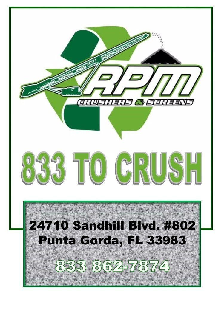 RPM Crushers &Screens